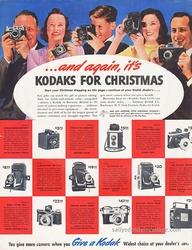 Vintage Christmas Kodak