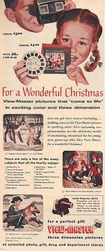 Vintage Christmas Advertisement