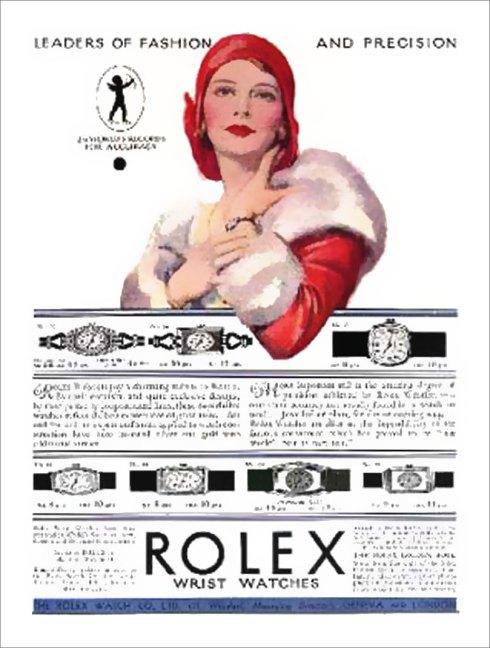 Vintage Rolex Advertisment