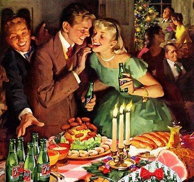 Vintage Christmas 7UP