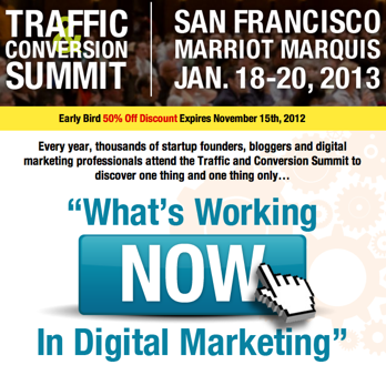 2013 traffic-and-conversion-summit