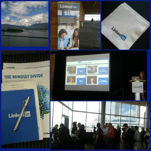 #LinkedInBC  digital marketing seminar